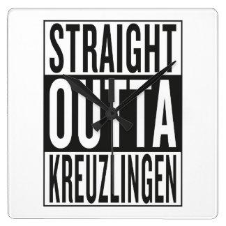 straight outta Kreuzlingen Wallclock