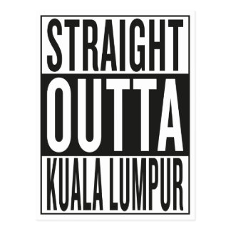 straight outta Kuala Lumpur Postcard