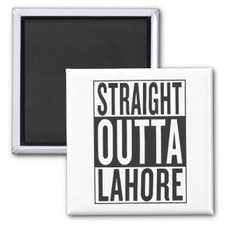 straight outta Lahore Square Magnet