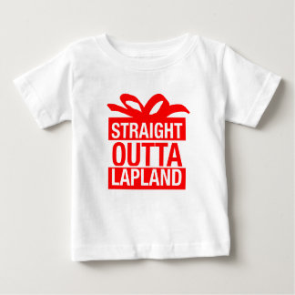 Straight Outta Lapland Baby T-Shirt