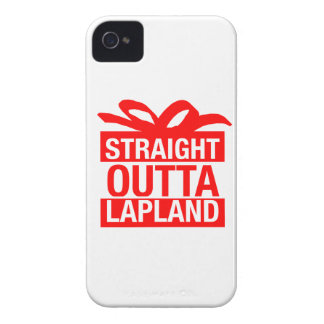 Straight Outta Lapland iPhone 4 Covers
