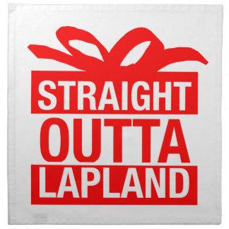 Straight Outta Lapland Napkin