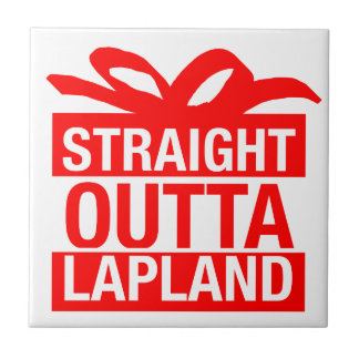 Straight Outta Lapland Tile