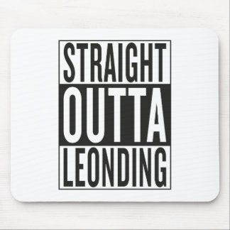 straight outta Leonding Mouse Pad