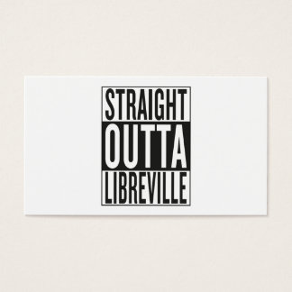 straight outta Libreville Business Card
