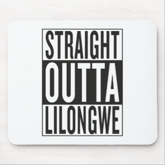 straight outta Lilongwe Mouse Pad