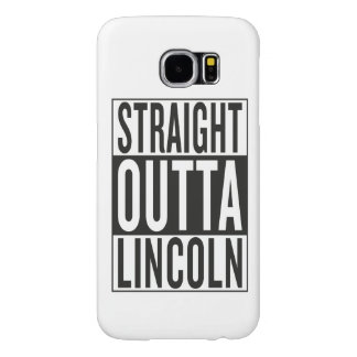 straight outta Lincoln Samsung Galaxy S6 Cases