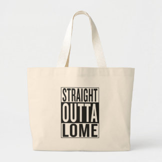 straight outta Lome Large Tote Bag