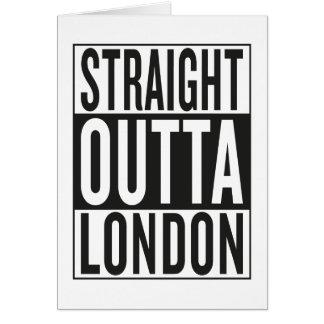 straight outta London Card