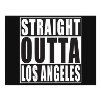 Straight Outta Los Angeles Postcard