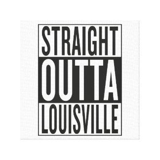 straight outta Louisville Canvas Print