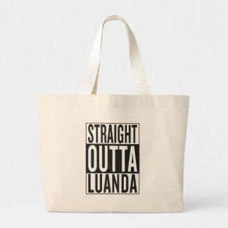 straight outta Luanda Large Tote Bag
