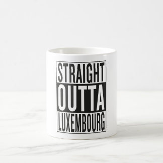 straight outta Luxembourg Coffee Mug