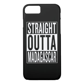 straight outta Madagascar iPhone 7 Case