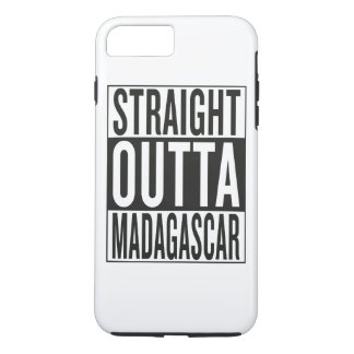 straight outta Madagascar iPhone 7 Plus Case