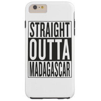 straight outta Madagascar Tough iPhone 6 Plus Case