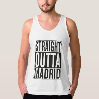 straight outta Madrid Tank Top