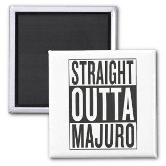 straight outta Majuro Square Magnet