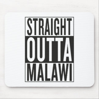 straight outta Malawi Mouse Pad