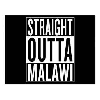 straight outta Malawi Postcard