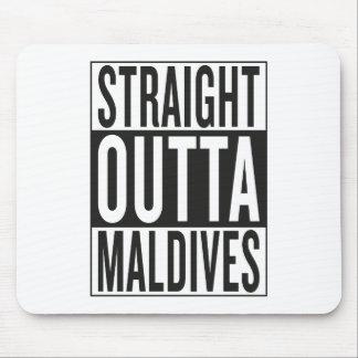 straight outta Maldives Mouse Pad