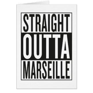straight outta Marseille Card