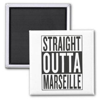 straight outta Marseille Magnet