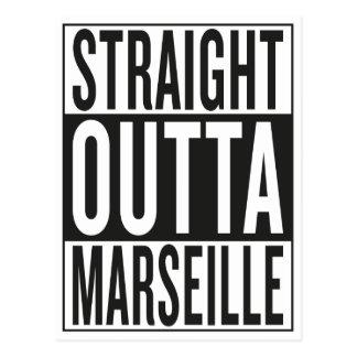 straight outta Marseille Postcard