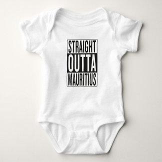 straight outta Mauritius Baby Bodysuit