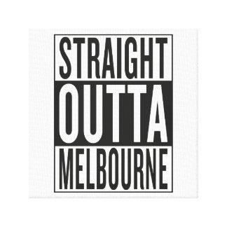 straight outta Melbourne Canvas Print