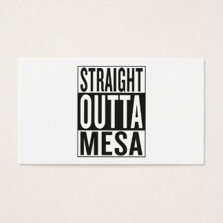 straight outta Mesa Business Card