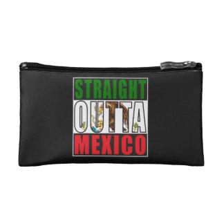 Straight Outta Mexico Flag Makeup Bag
