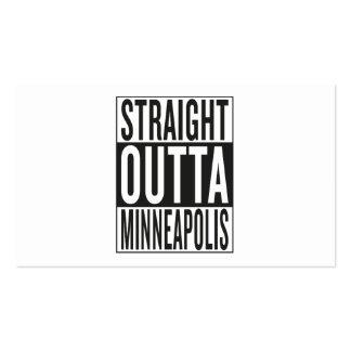 straight outta Minneapolis Business Card
