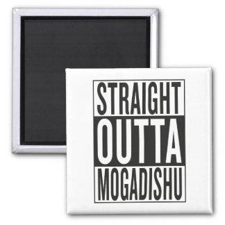 straight outta Mogadishu Square Magnet