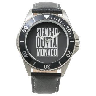 straight outta Monaco Wristwatches
