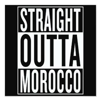 straight outta Morocco Card