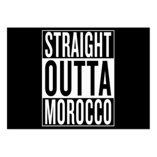straight outta Morocco Large Business Card