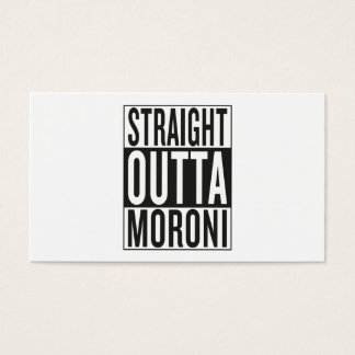 straight outta Moroni Business Card