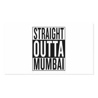 straight outta Mumbai Business Card