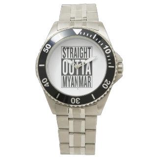 straight outta Myanmar Wrist Watch