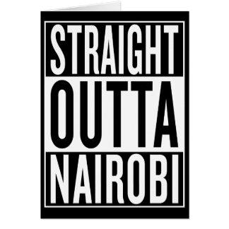straight outta Nairobi Card