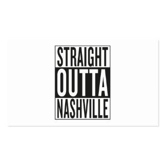 straight outta Nashville Business Card