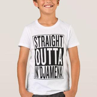 straight outta N'Djamena T-Shirt