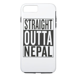 straight outta Nepal iPhone 7 Plus Case