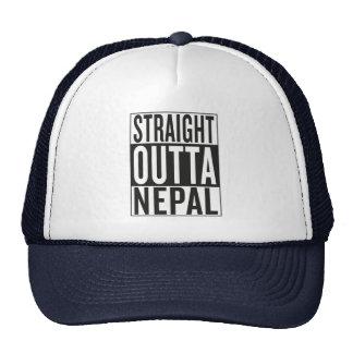 straight outta Nepal Trucker Hat
