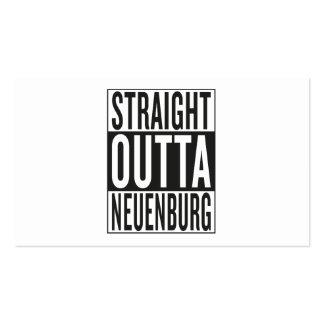 straight outta Neuenburg Business Card