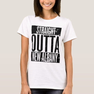 Straight Outta New Albany (Indiana) T-Shirt