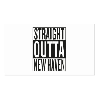 straight outta New Haven Business Card