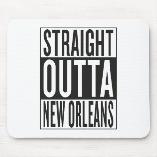 straight outta New Orleans Mouse Pad