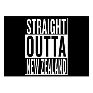 straight outta New Zealand Large Business Card